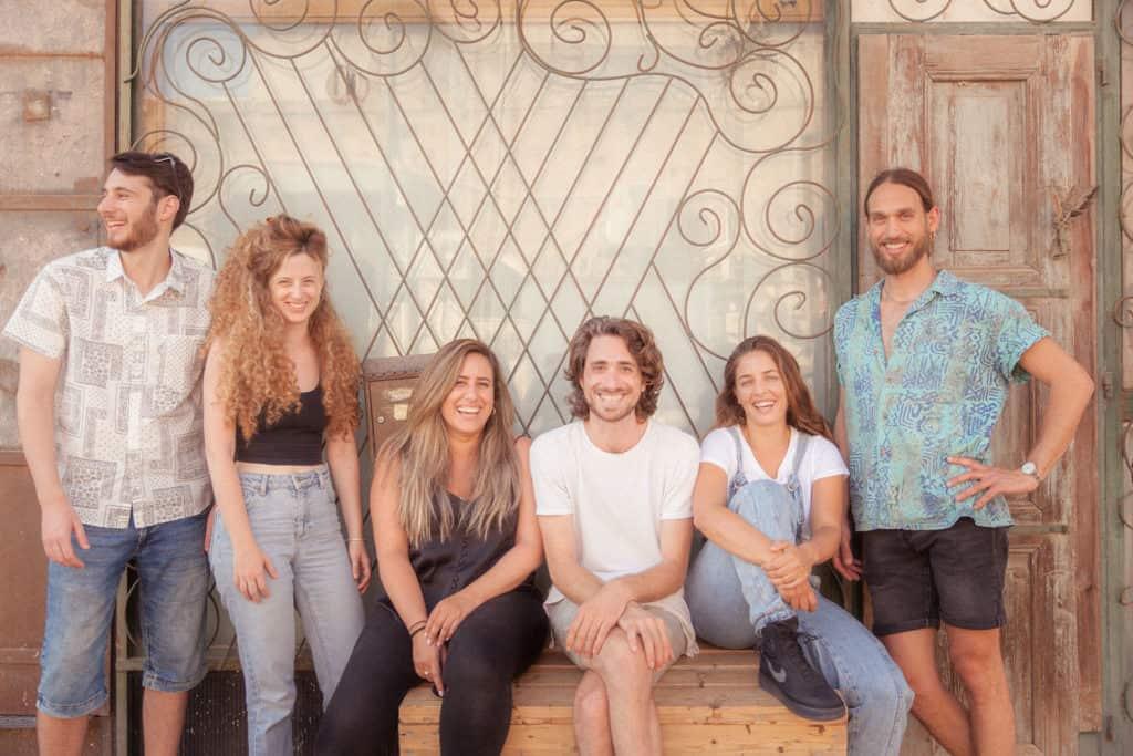 BugLife Crew - In the picture: Alik, Shaked, Evie, Yehuda, Eden, Shir